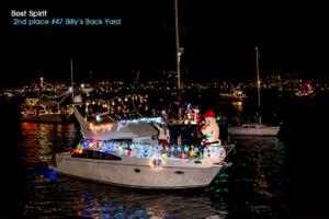 2016 Best Spirit 2nd #47 Billy's Back Yard